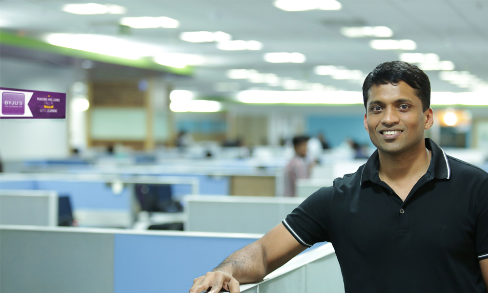 Online learning app Byju's entered the league of 'decacorns'