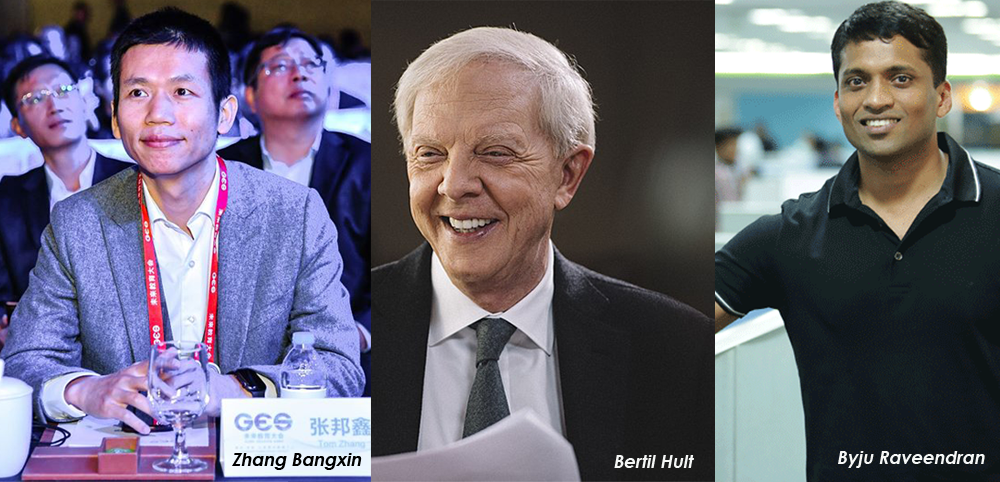 These are the world's top education billionaires…