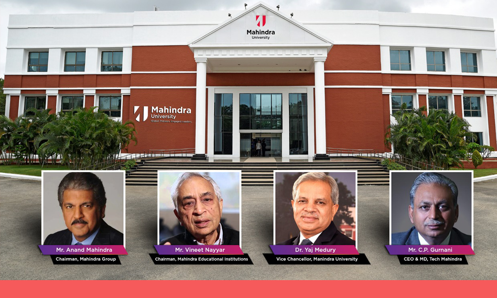 Here's Mahindra University; India's auto giant outlines a new paradigm for Higher Education