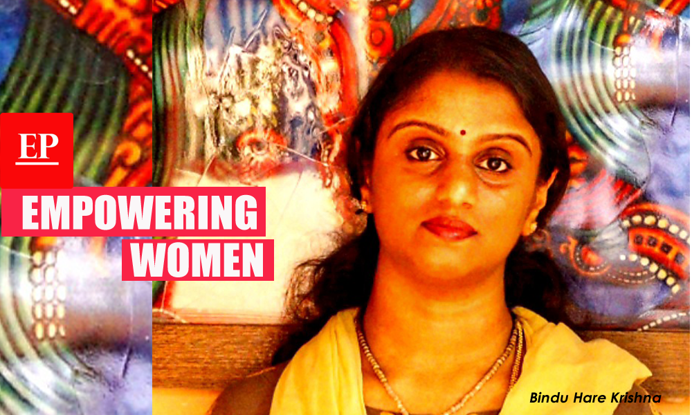 This pure Krishna devotee scripts inspirational success story through herbal cosmetics!